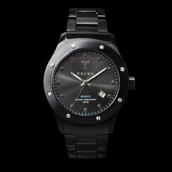 Triwa Horloge Black Russian Brasco