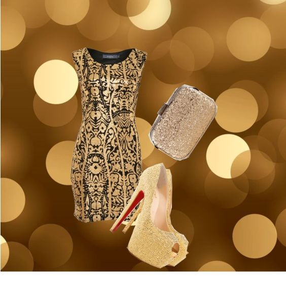 """""""Gold"""" by kathinkabuchter ❤ liked on Polyvore"""