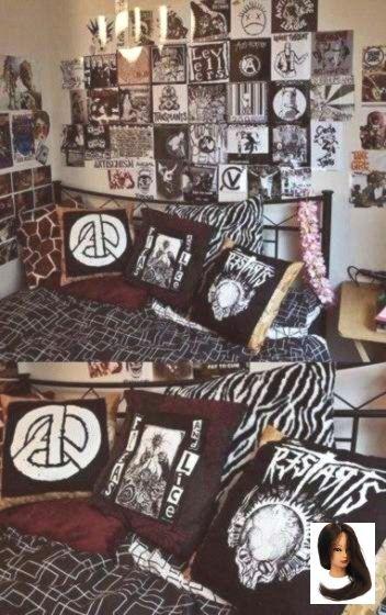 Punk Rock Room Decor Grunge