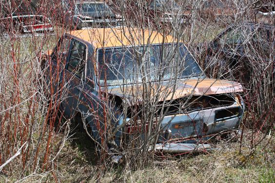 1972 Datsun 510 at McLean's Auto Wreckers