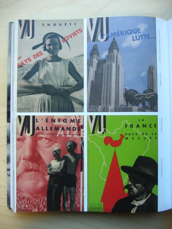 french magazine vu 1940ies