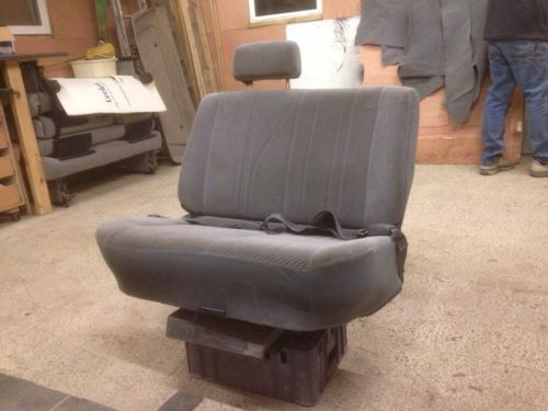 Swivel Reclining Double C&er/van Bench Seat. Bed Belts. VW T4 T5 Caddy Transit | Bench seat T5 and Van life & Swivel Reclining Double Camper/van Bench Seat. Bed Belts. VW T4 T5 ... islam-shia.org
