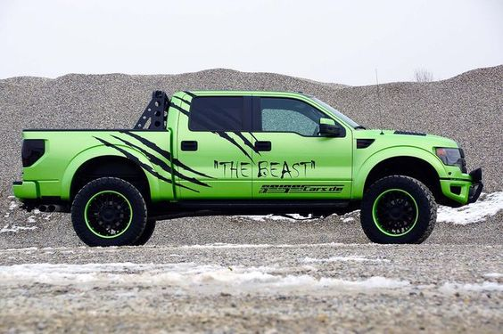 Ford Raptor Pickup – Geiger Cars The Beast