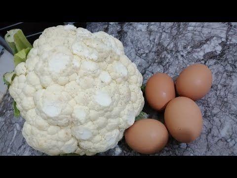 عندك راس شفلور او زهرة و 4 بيضات اجي نحضرو اطيب و اسهل وجبة عشاء Youtube Vegetables Food Cauliflower