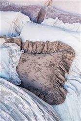 Feather Your Nest Austin | Pennelope Boudoir Pillow | Bella Notte | Pillows | Luxury Linens