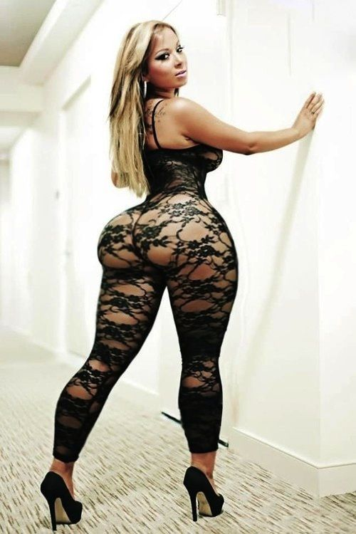 Fishnet, Lace and Perfect curves on Pinterest