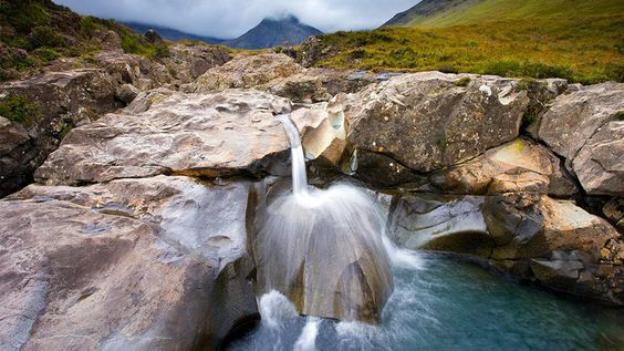 Isle of Skye, Scotland: Fairy Pools, Favorite Places, Clear Fairy, Skye Scotland, Beautiful Landscapes, Scotland Fairy, Beautiful Clear, Pools Skye, Beautiful Wonders