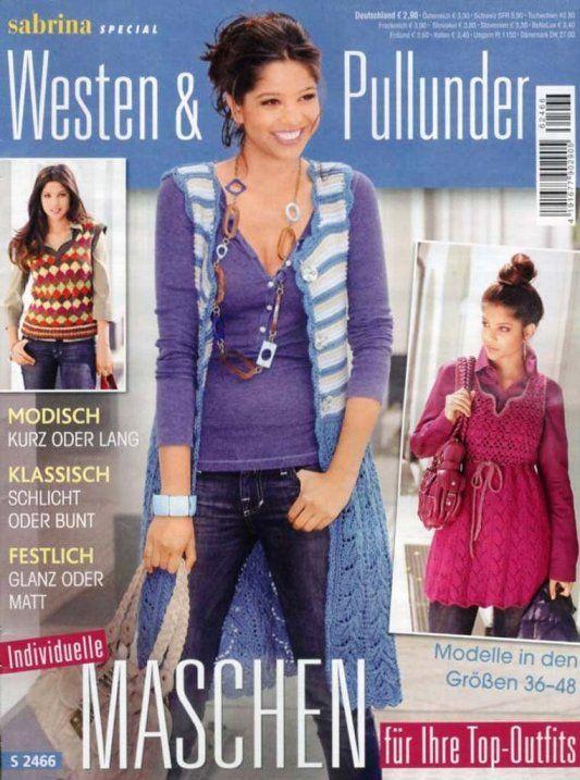 Sabrina Special - Westen & Pullunder S2466 | Martinas Bastel- & Hobbykiste