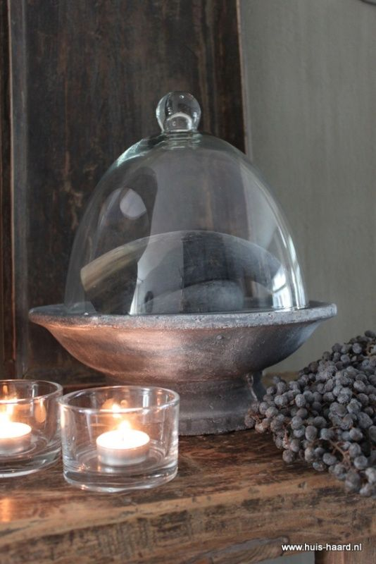 Keukenaccessoires Webshop : Bistro Round Glass Dome Sconce