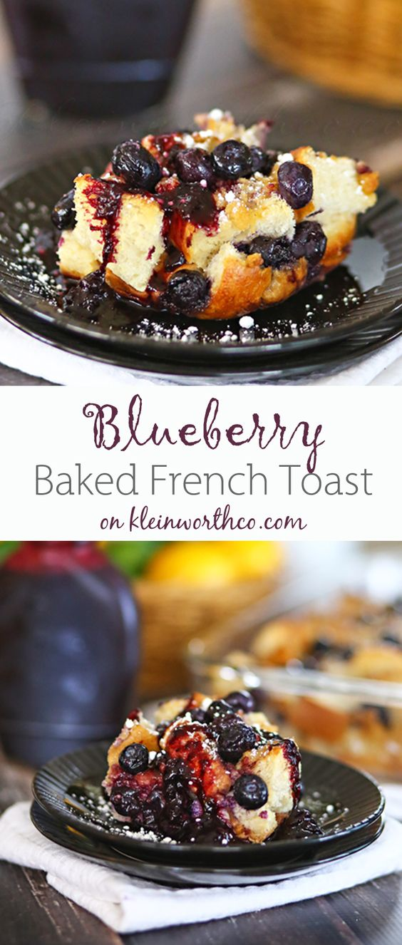 Grilled French Toast With Sausages And Blueberries Recipe — Dishmaps