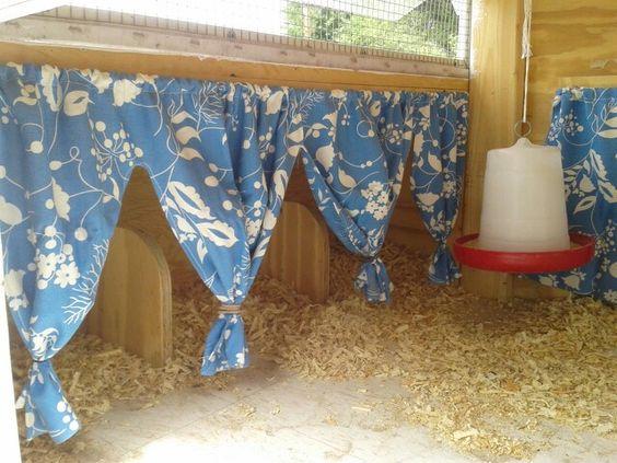 Chicken Nest Box Curtains   chickens   Pinterest   Shabby chic ...