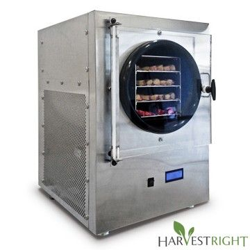 Harvest Right™ Stainless Steel Home Freeze Dryer with Starter Pack