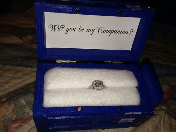 Exactly how I wish to be proposed to!