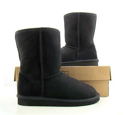 Black Classic Short UGG Boots.The Christmas promotion! Our Price : $150.00 Sale Price :$89.00 Save: 41% off!!