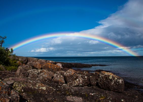 Capture Minnesota Photo Contest - Superior Rainbow by Craig Marble