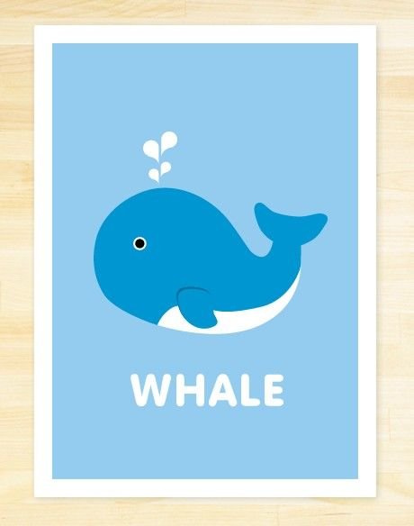 Such a cute whale!