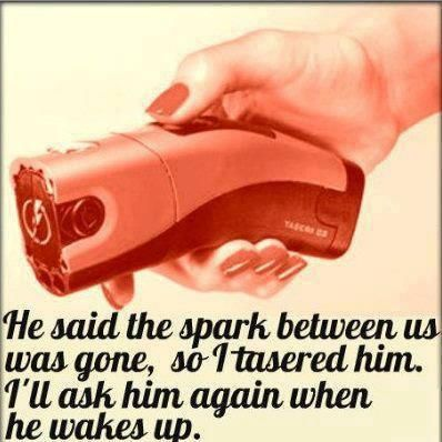 The spark was gone...