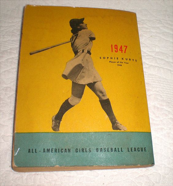 1947 Major League Baseball Book Of Stats Featuring The AAGPBL