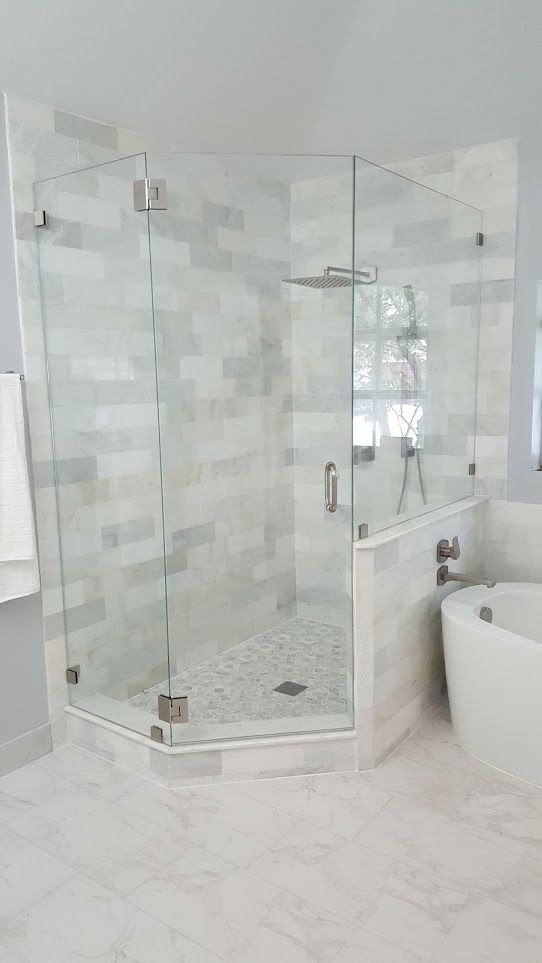 The Original Frameless Shower Doors Featuring The Clearslide