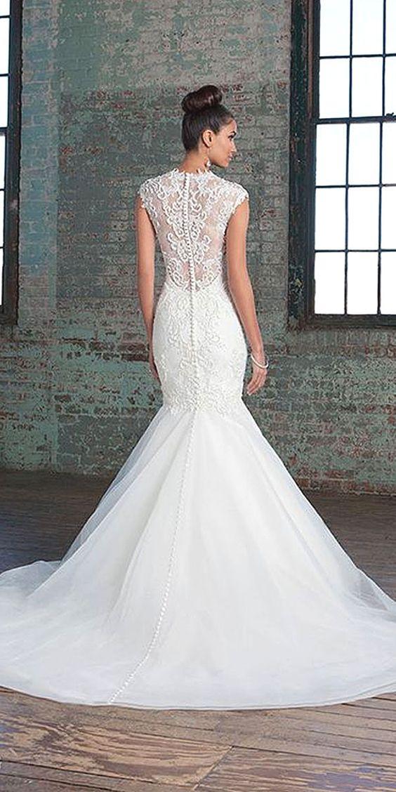 Justin Alexander Wedding Dresses 4 - Deer Pearl Flowers / http://www.deerpearlflowers.com/wedding-dress-inspiration/justin-alexander-wedding-dresses-4/