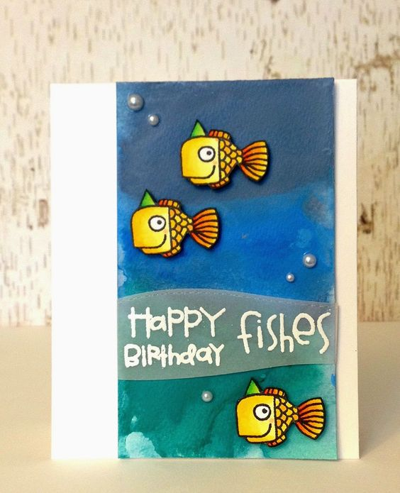 Sam's Scrap Candy: cute little birthday fishes!