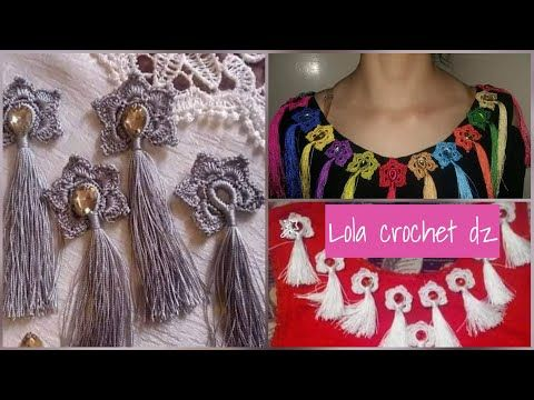Youtube Crochet Crochet Necklace Statement Necklace