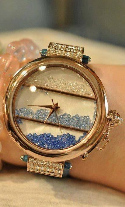 This one right here would make me change things up and actually wear a watch! ☆