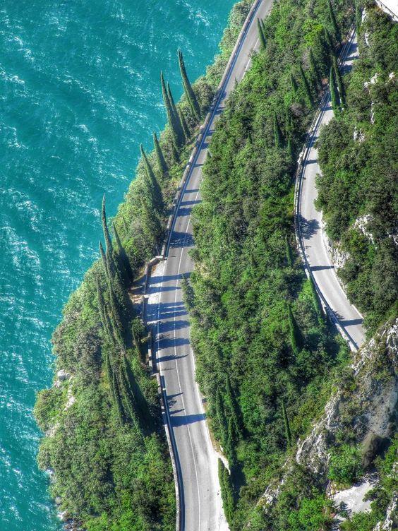 Route naar Tremosine sul Garda