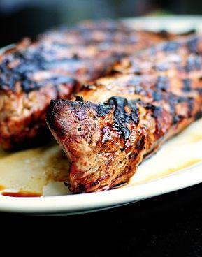 Easy Grilled Pork Tenderloin #recipe