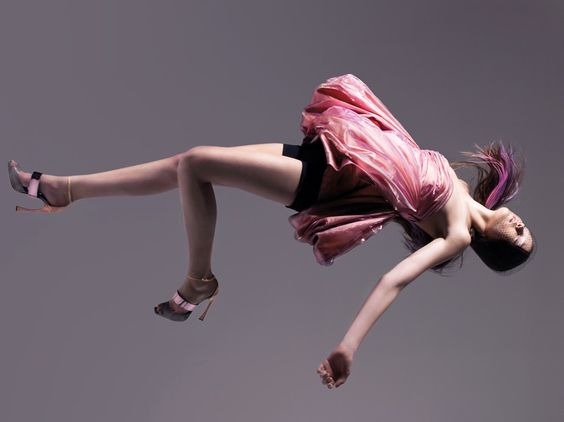 Yumi Lambert in Age of Aquarius by Pierre Debusschere