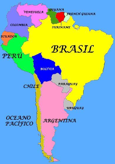 Más De Ideas Increíbles Sobre Mapa De America Del Sur En - Mapa de sur america