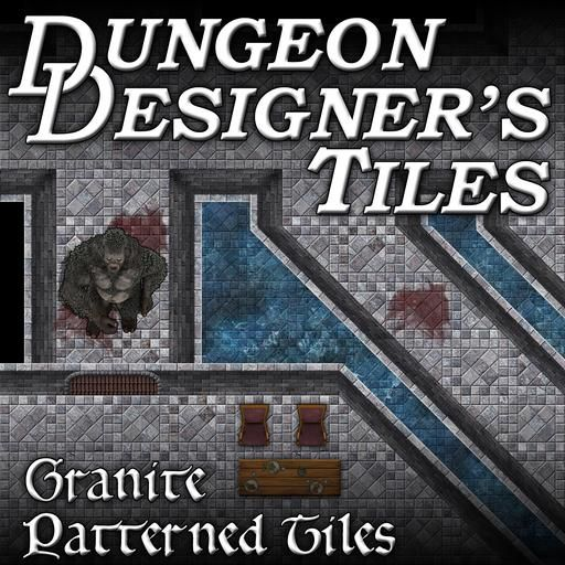 A set of art assets for creating your own Dungeon for TableTop RPG's played via online Virtual Table Tops or Traditional Pen and Paper