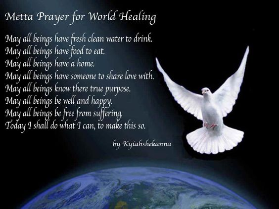 metta prayer for world healing