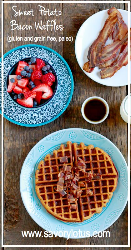 free paleo breakfast waffle ingredients the sweet sweet potato waffles ...