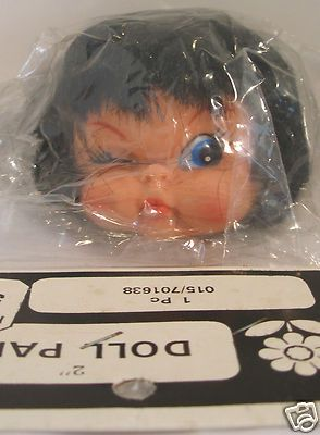 Miss SourPuss! Vintage Franks Vinyl 2 inch Scowling Angry Doll Full Head Rooted black Hair  Mouse over image to zoom     				  Zoom InZoom Out  Sell one like this  	  Vintage Franks Vinyl 2 inch Scowling Angry Doll Full Head Rooted black Hair  See more pics in my eBay store.