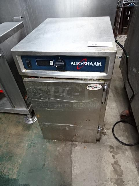 Nice Alto Shaam Model 500 S Pt Stainless Steel Commercial Holding