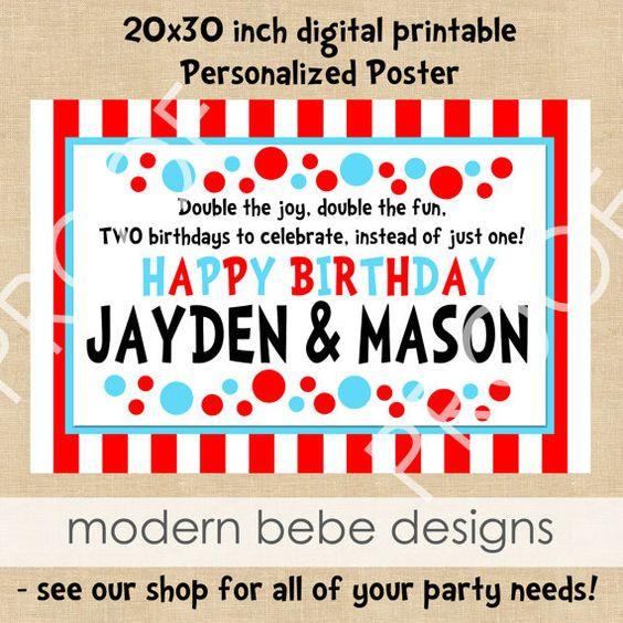 Birthday BannerPoster costco can print 20x30s for cheap – Costco Birthday Invitations