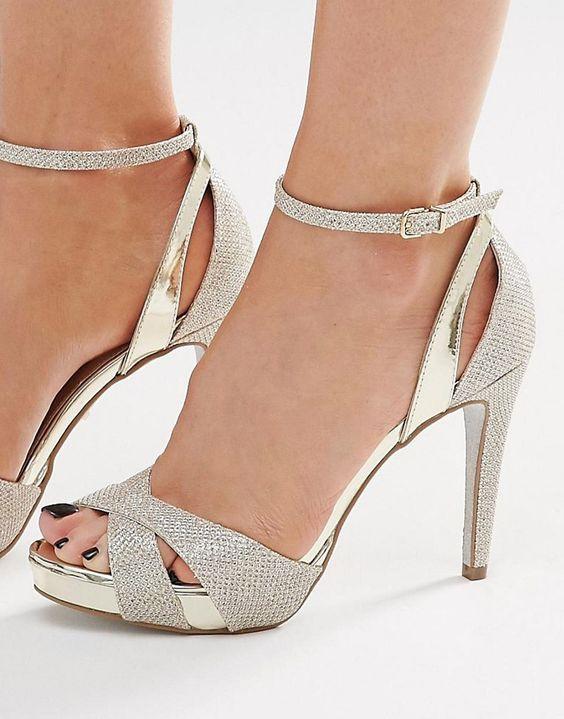 Carvela+Gifted+Gold+Metallic+Heeled+Sandals