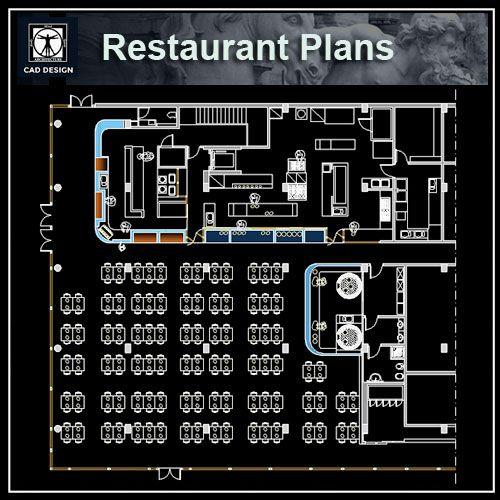 Restaurant Plan Design Download Autocad Blocks Drawings Details 3d Psd Restaurant Plan Autocad How To Plan