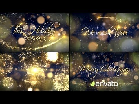 Christmas Videohive After Effects Templates Learn Web Design Free Web Design Web Design Tutorials