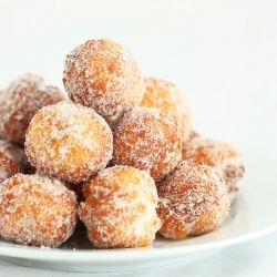Donuts Holes made from scratch in 15 minutes!