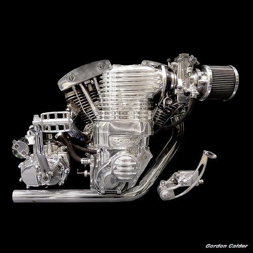 Harley Turbo Shovelhead: No 112: HARLEY DAVIDSON SHOVELHEAD WITH MAGNA SUPERCHARGER