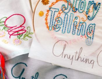 Embroidery Transfer Techniques on Creativebug