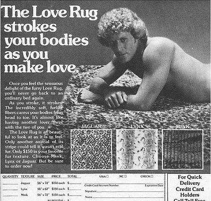 love rug  .. lol