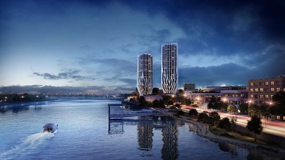 """Zaha Hadid Architects Unveil Trio of """"Blossoming"""" Residential ..."""