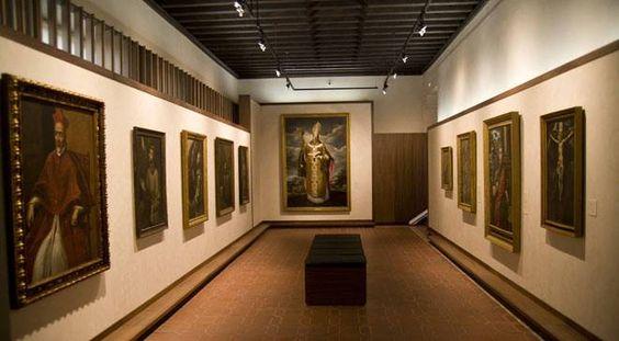 Vista general de una de las salas del Museo del Greco, en la que se exponen obras del artista. Toledo © Ministerio de Cultura
