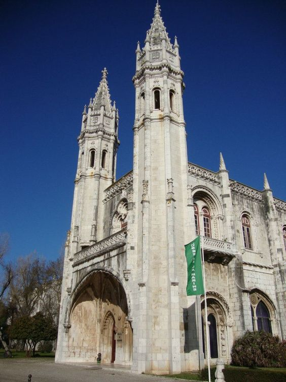 Jeronimos Monastery - See Vasco da Gama and Camões - Lisbon PT