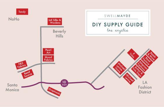 SwellMayde: Los Angeles DIY Supply Guide