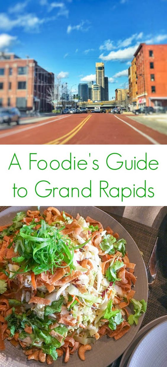A Foodie's Guide to Grand Rapids - A list of the must-see spots for eating and drinking in Grand Rapids, Michigan - The Lemon Bowl