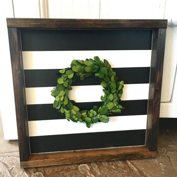 Boxwood Wreath Fixer Upper And Wreaths On Pinterest